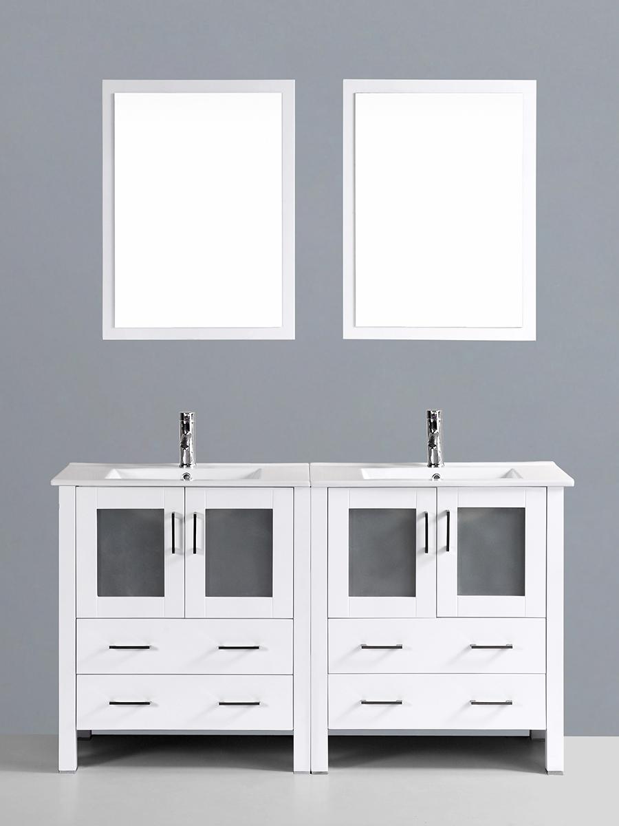 Hanna Vanity with Undermount Sinks