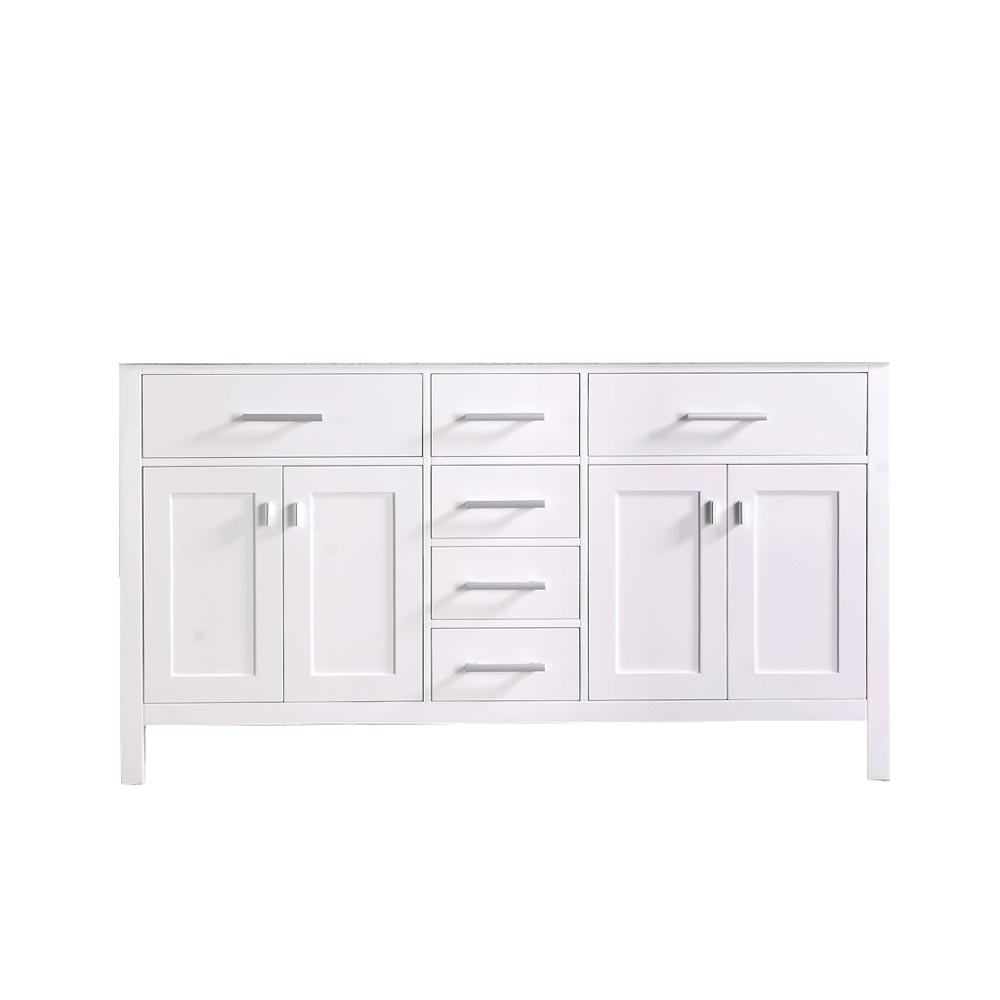 "61"" London Bathroom Vanity - cabinet only"