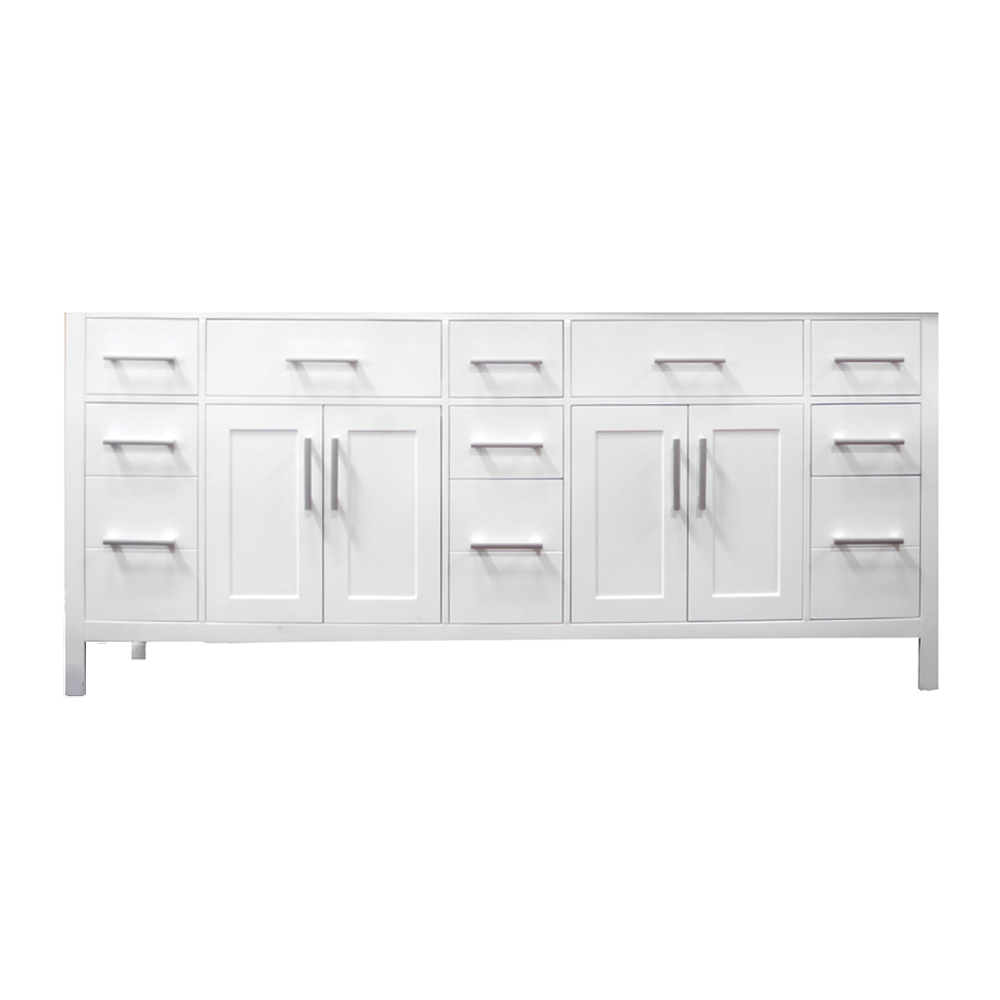 "78"" London Double Vanity - cabinet only"