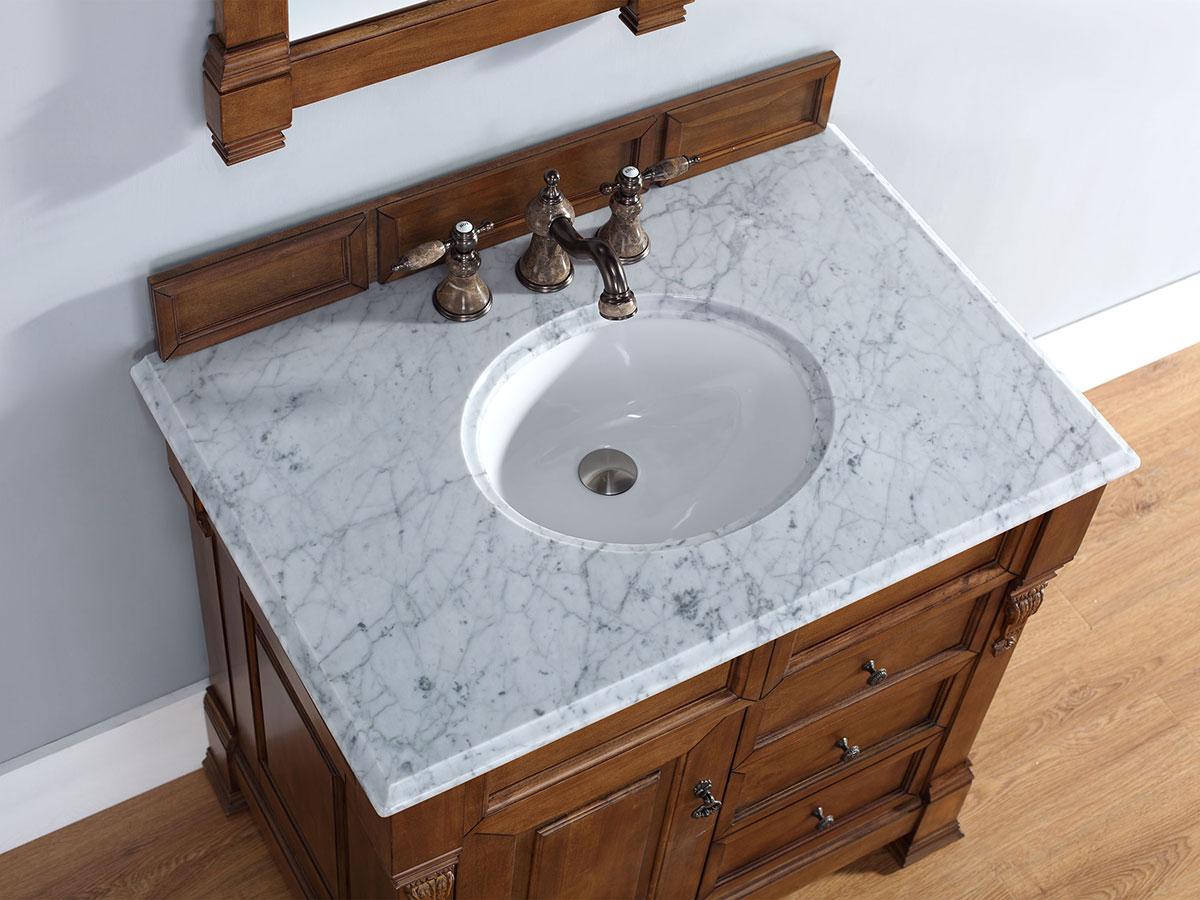 White Carrera Stone Top