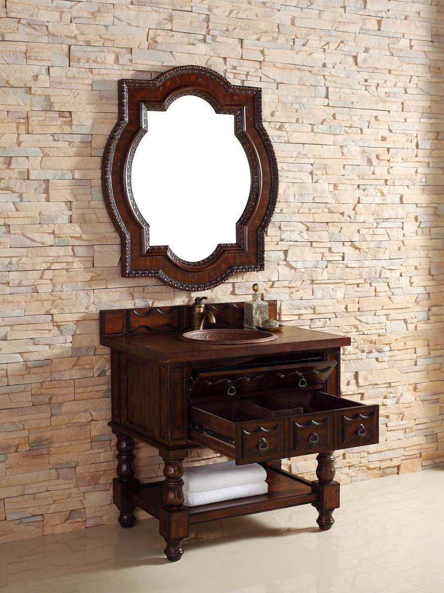 Shown with Wood Top (Sink Shown Not Included)