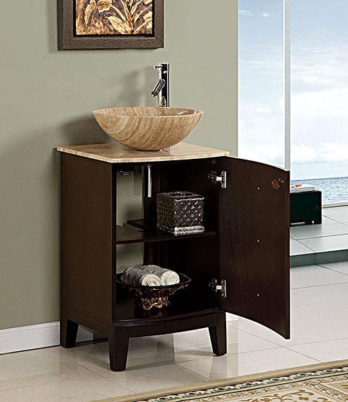 20 Quot Vesuvius Single Vessel Sink Vanity Bathgems Com