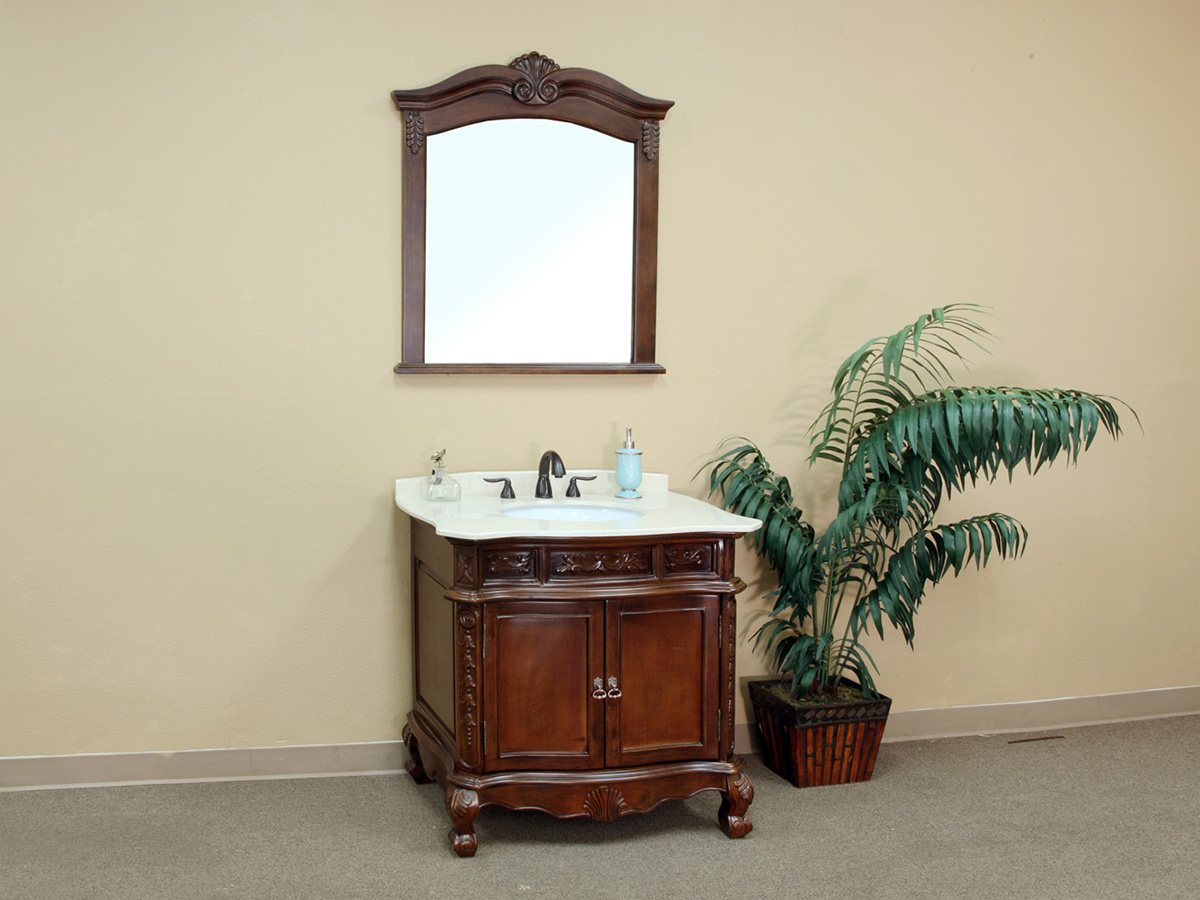 "34.6"" Normandy Single Bath Vanity"