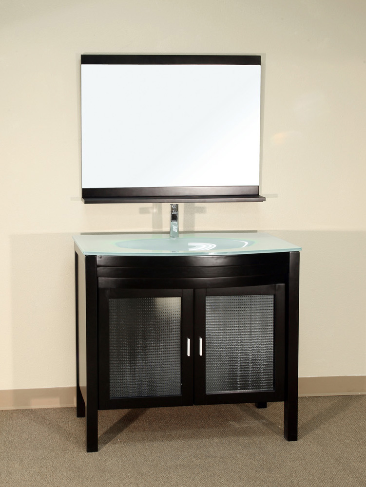 "39.4"" Bonito Single Bath Vanity - Shown With Optional Mirror"
