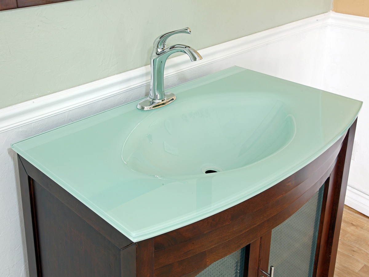 39 5 Quot Bonito Single Bath Vanity Walnut Bathgems Com
