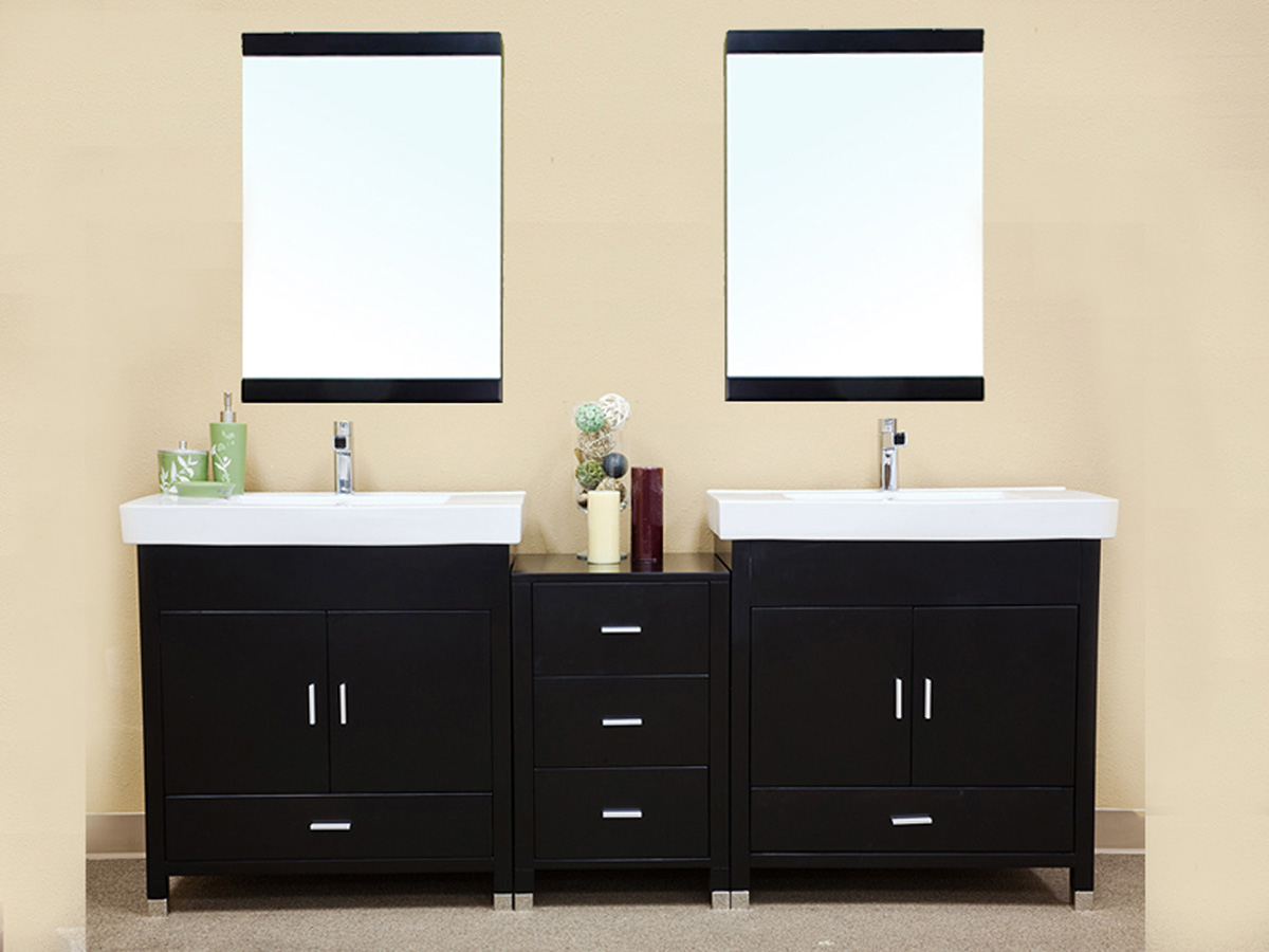80 inch double sink bathroom vanity 80 75 quot stillwater sink vanity bathgems 24810