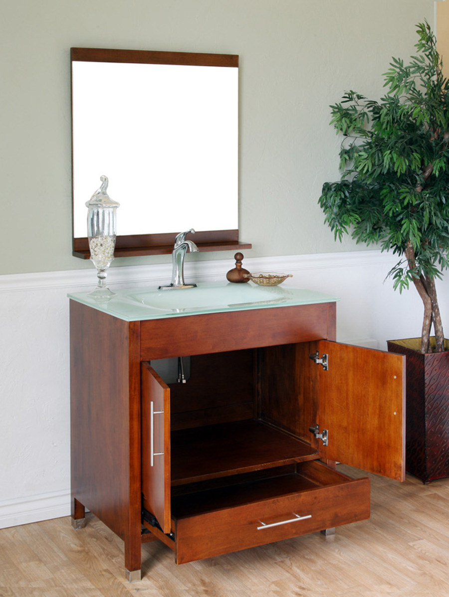Double-Door Cabinet And Single Functional Drawer