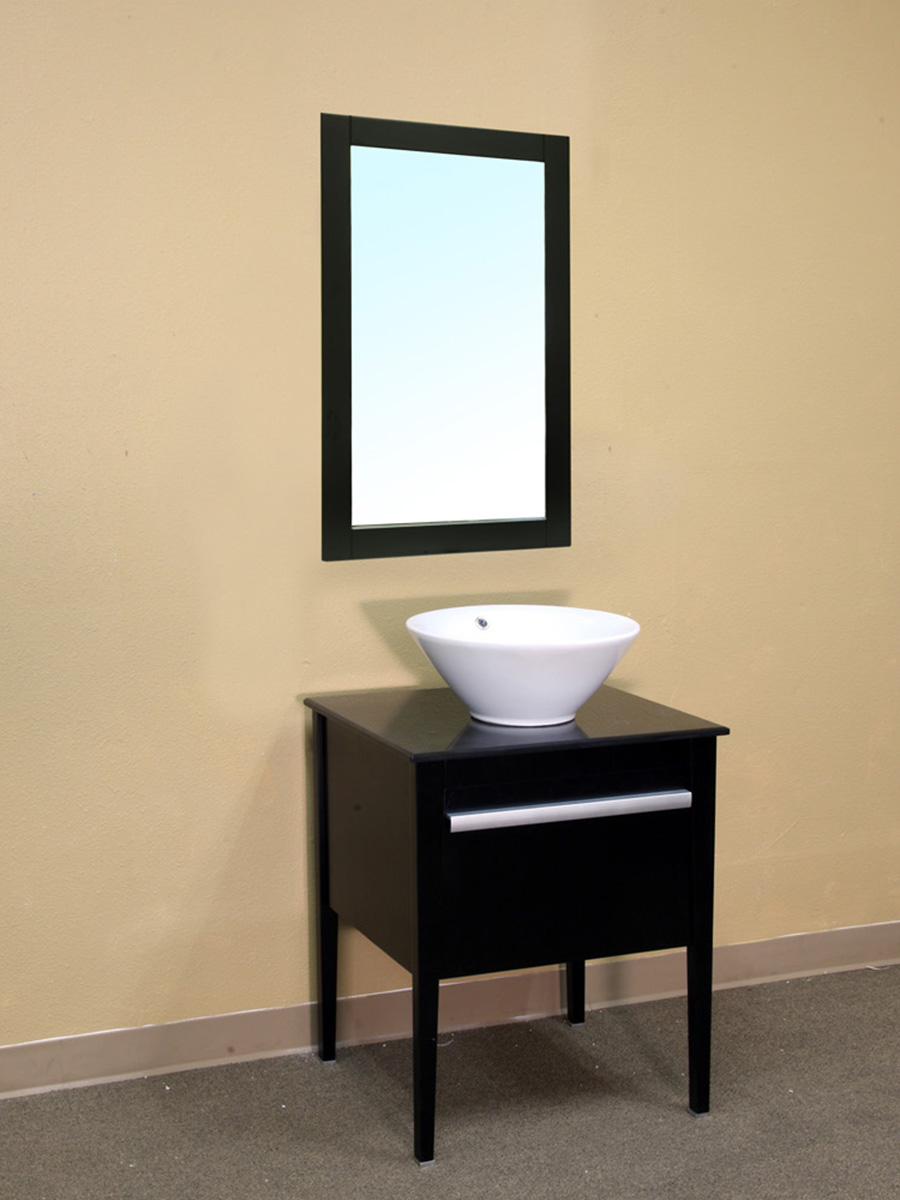 "26"" Adra Single Vanity Shown With Optional Mirror"