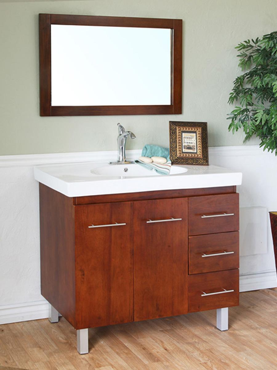 "39"" Altamira Single Bath Vanity in Walnut"