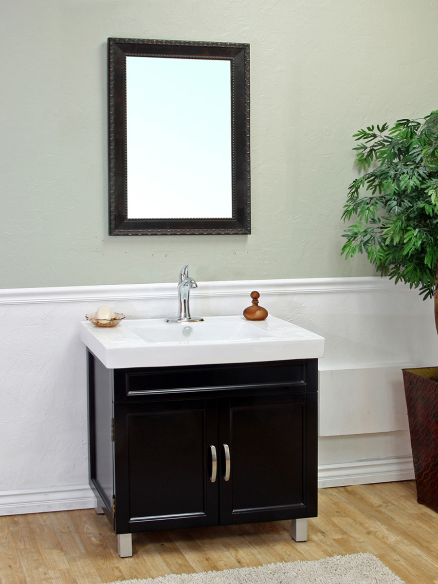 "31.5"" Marilian Single Bath Vanity in Black"