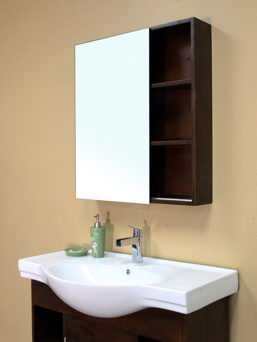 Optional Mirror With Shelves