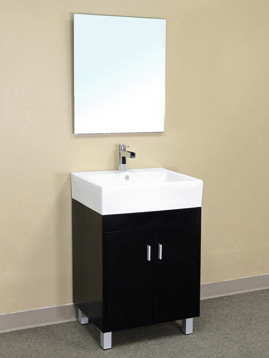 "22.8"" Palencia Modern Vanity Shown With Optional Mirror"