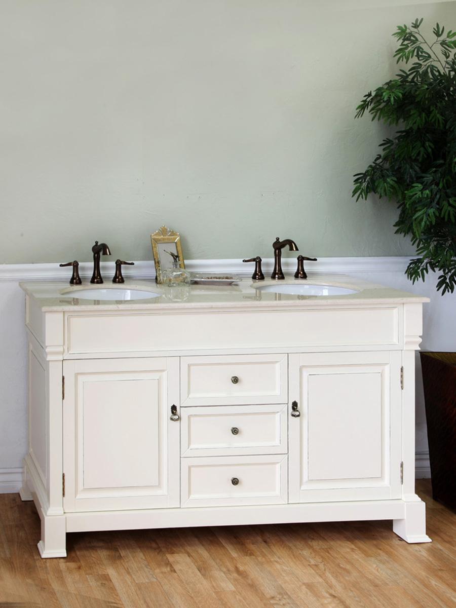 """60"""" Helena Double Sink Vanity"""