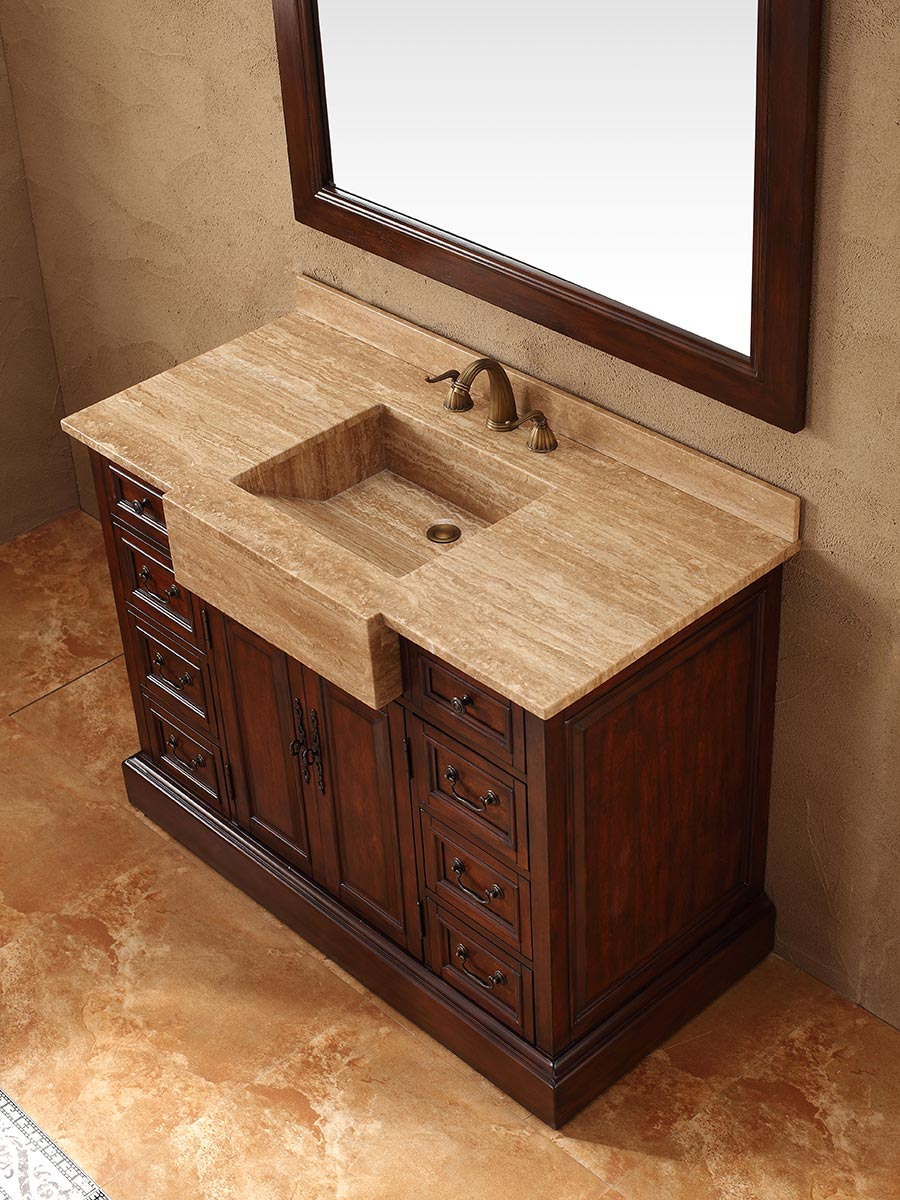 "48"" Carlow Single Bath Vanity - Bathgems.com"