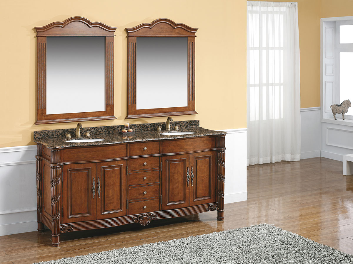 Great 48 White Bathroom Vanity Cabinet Thin Bathroom Water Closet Design Rectangular Tiled Baths Showers Silkroad Exclusive Pomona 72 Inch Double Sink Bathroom Vanity Young Rebath Average Costs OrangeBathroom Wall Fixtures 72\u0026quot; Messina Double Sink Vanity   Bathgems