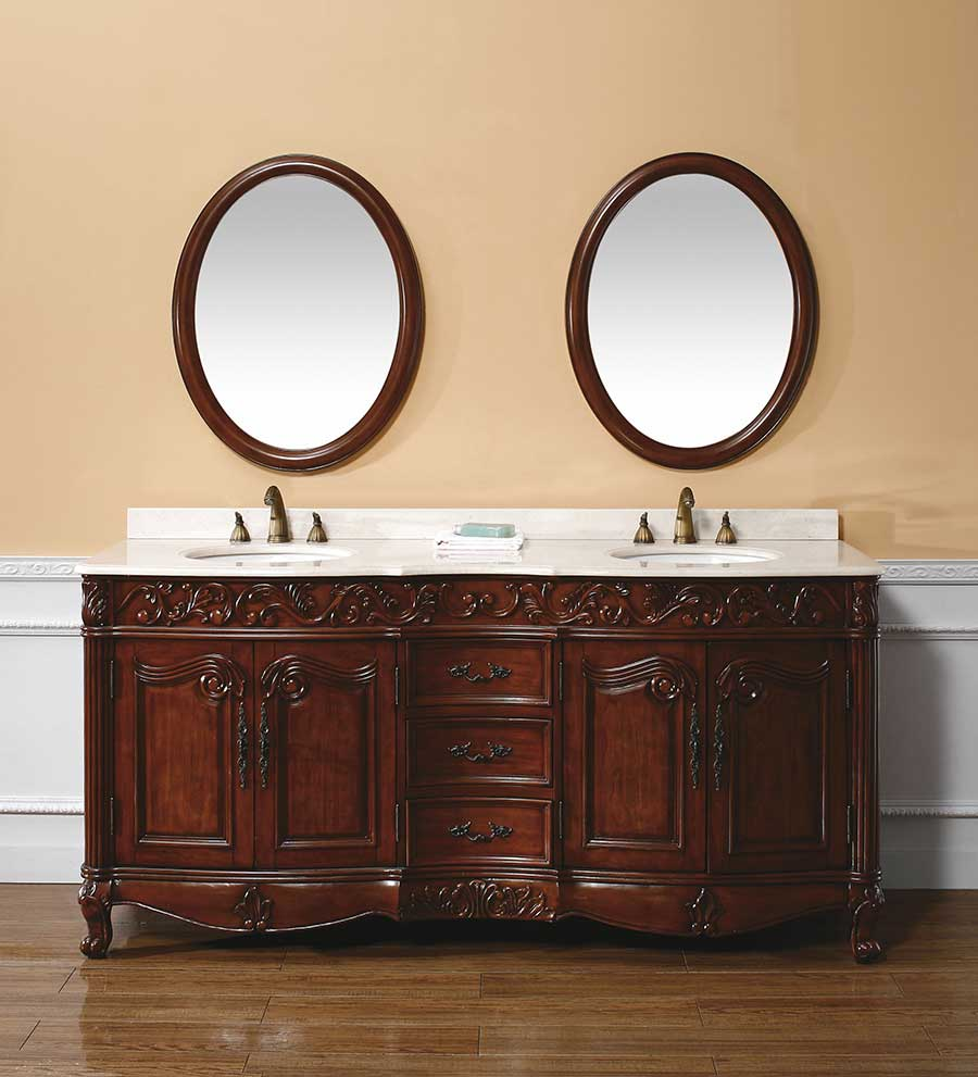 "72"" Lanciano Double Sink Vanity"