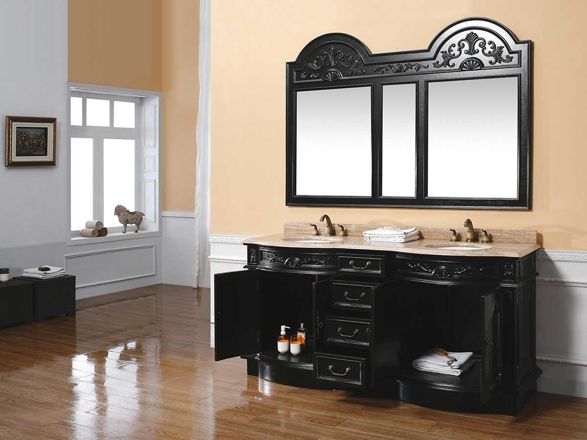 "72"" Morino Double Sink Vanity"