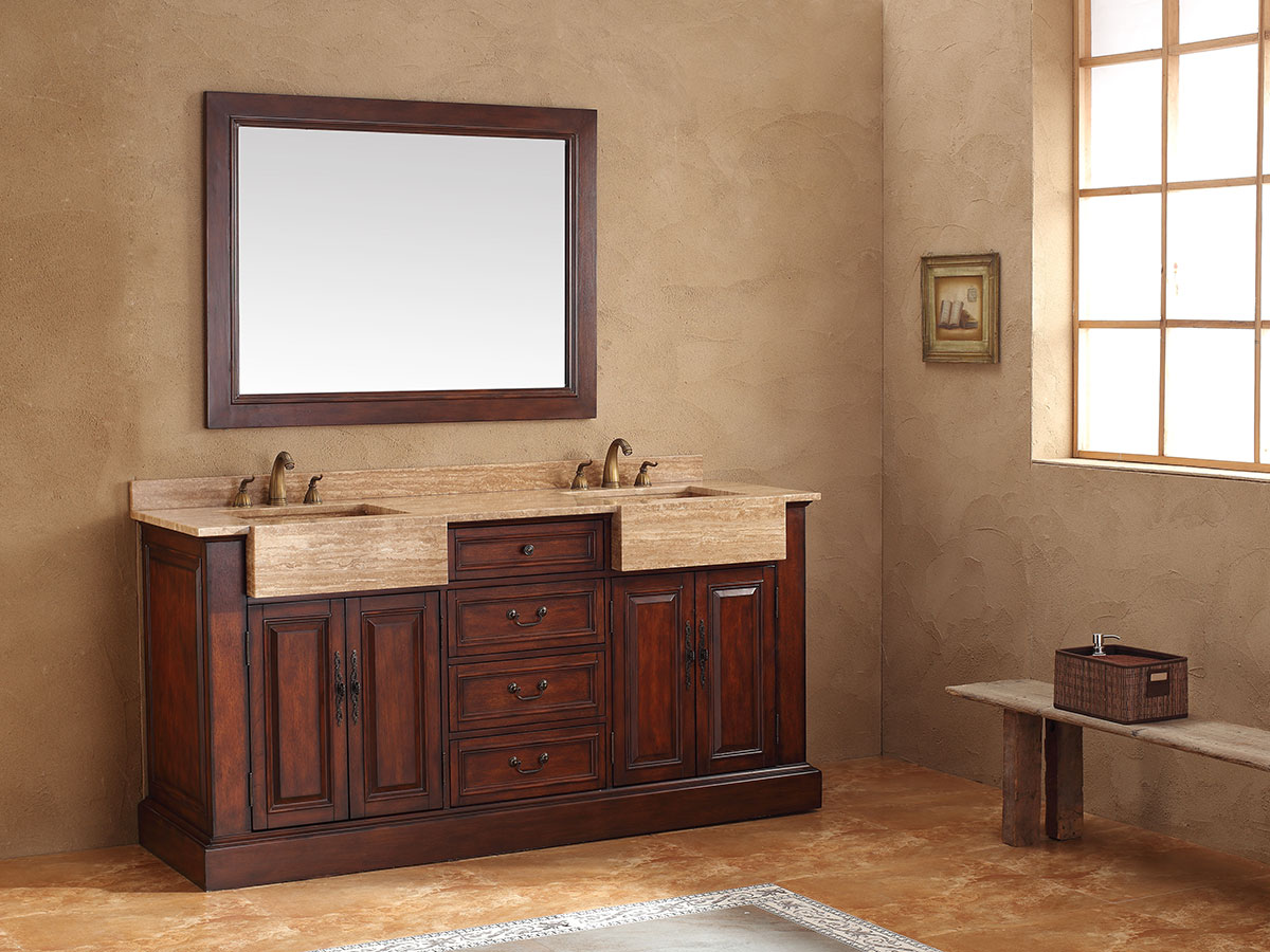"72"" Ballymun Double Sink Vanity"