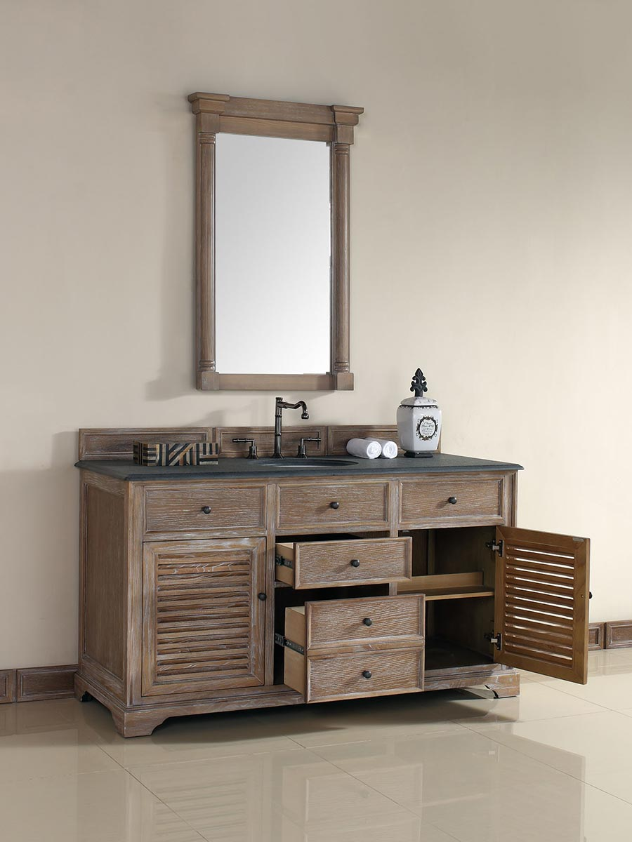 Shown with Absolute Black (Rustic) Stone Top