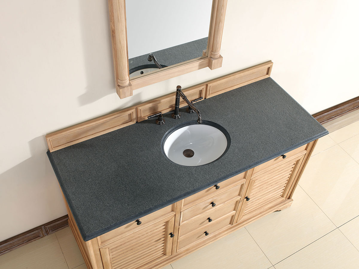 Absolute Black (Rustic) Stone Top