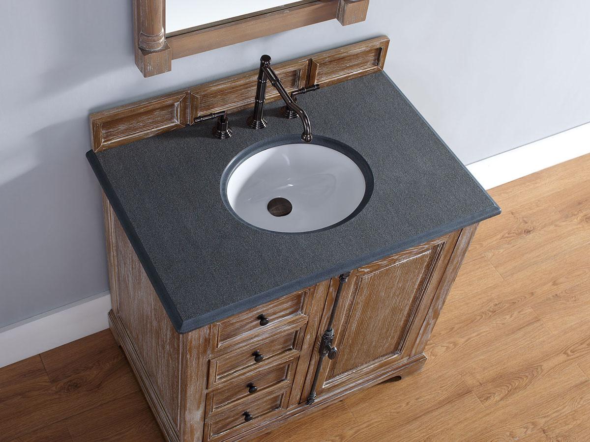 Absolute Black (Rustic) Stone Top