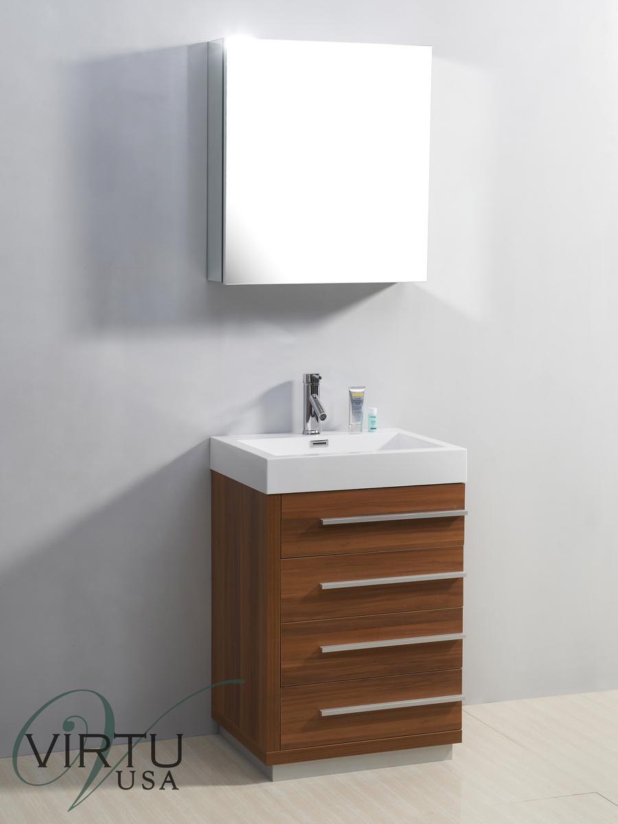 "24"" Bailey Single Bath Vanity in Plum"
