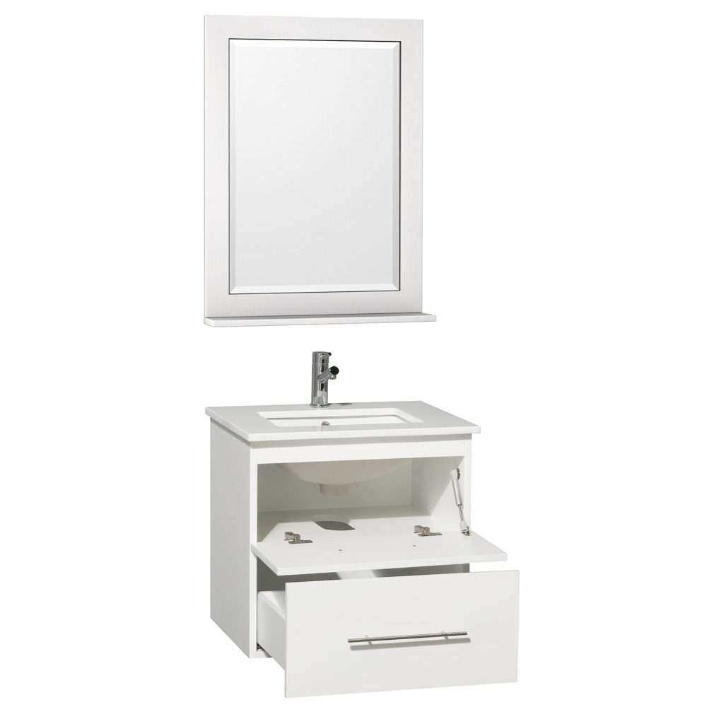Single-Door Cabinet and Single Drawer