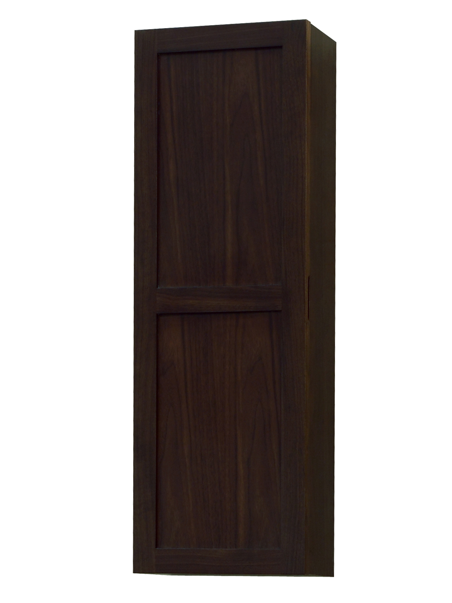 "24"" Modesta Walnut Wall-Mount Vanity - with optional top"