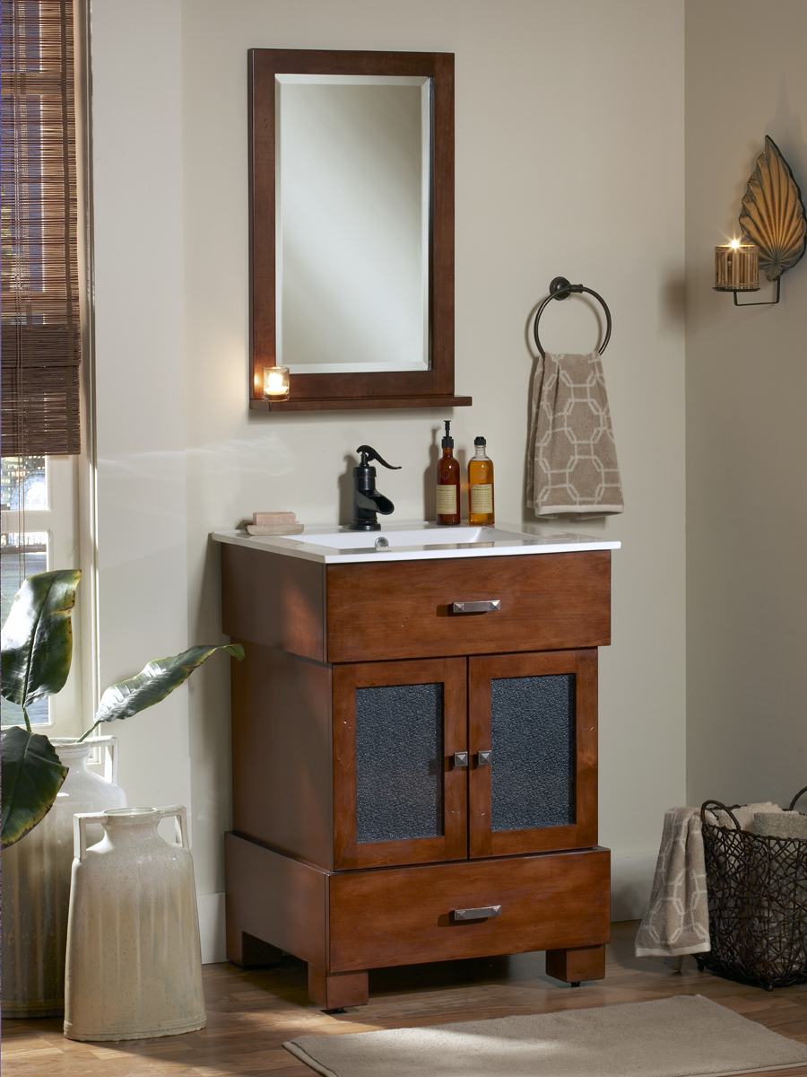 "24"" Citation Single Bath Vanity - Mirror Show Not Available"