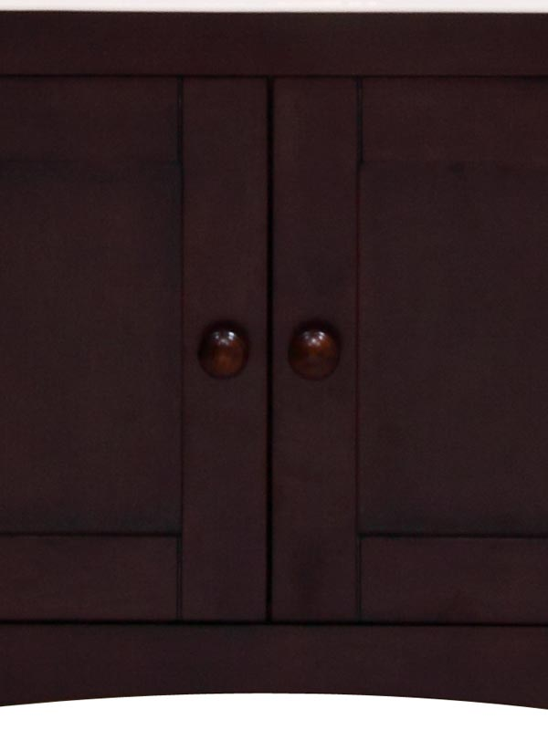 Matching door knob accents