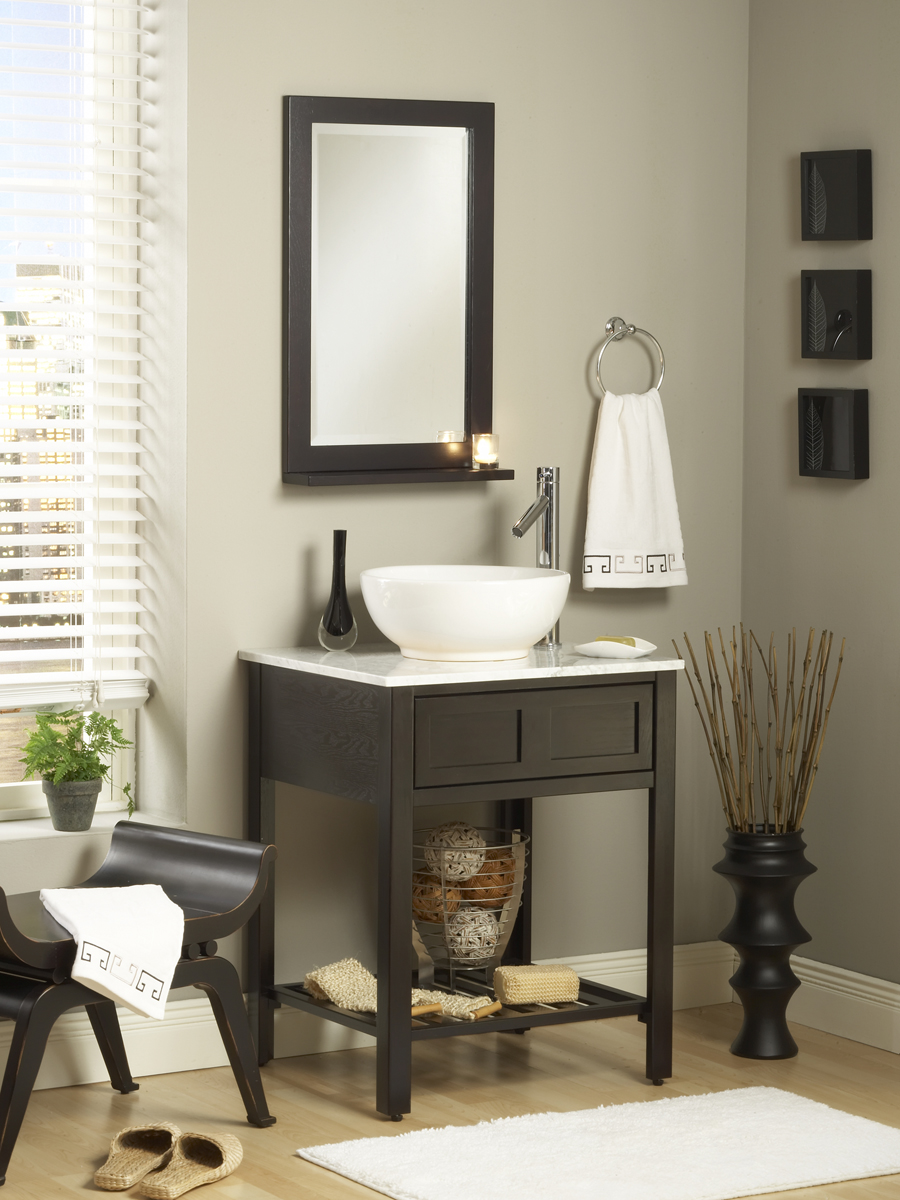 """24"""" Parsons Single Vanity - Mirror Shown Not Available"""