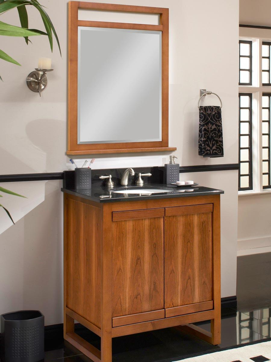 "30"" Lawton Single Bath Vanity - with optional mirror"