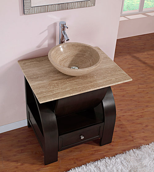 """30"""" Cali Vessel Sink Vanity"""