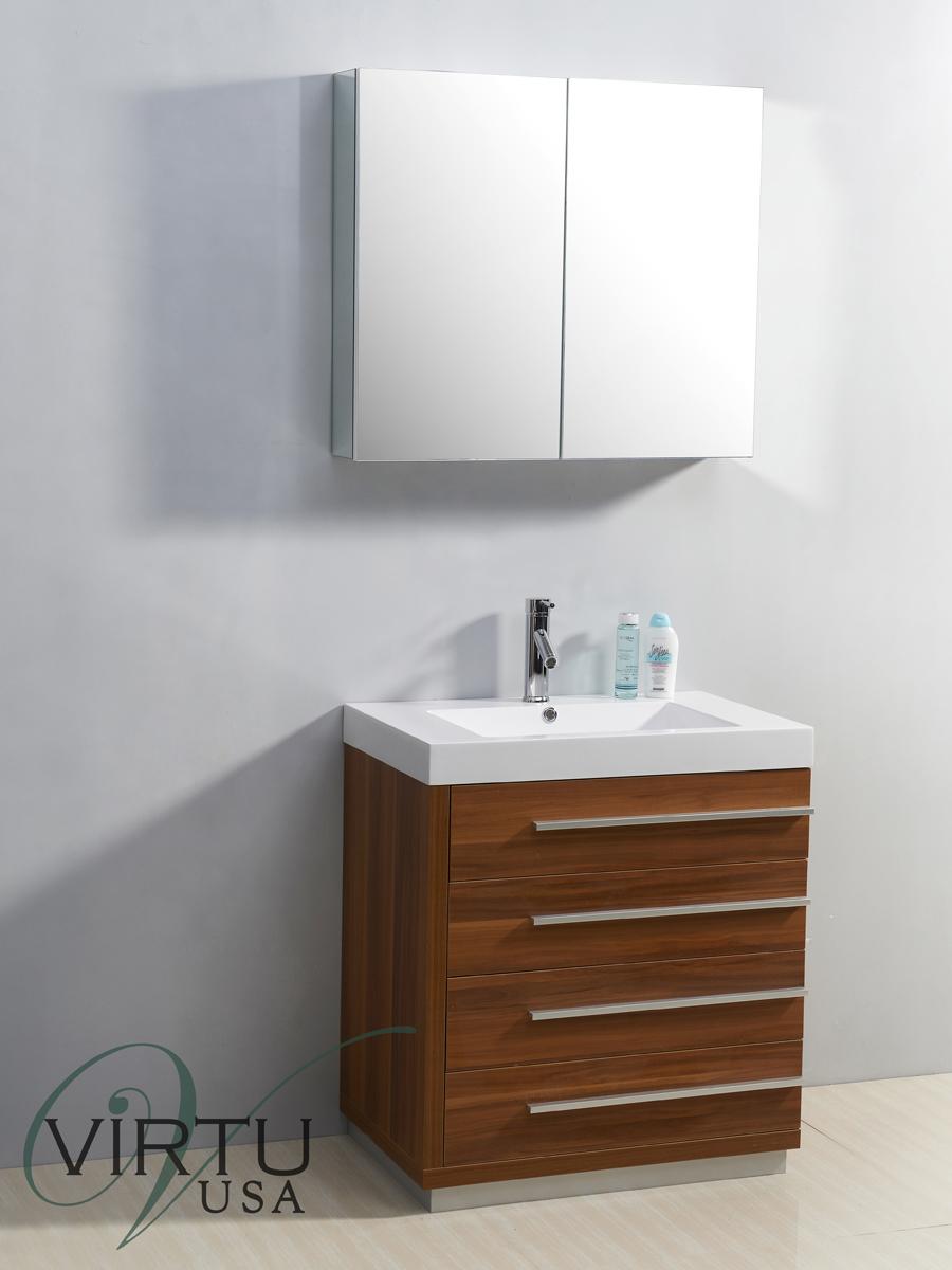 "31.5"" Bailey Single Bath Vanity in Plum"