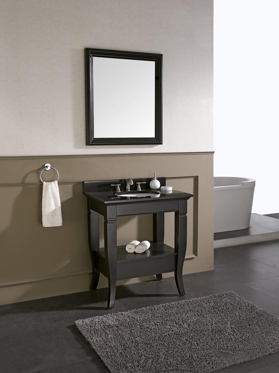 "30"" Carrara Single Vanity - With optional mirror"