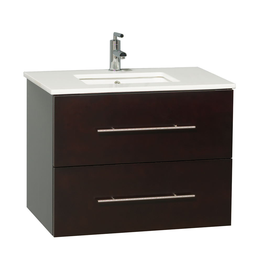 "30"" Zentra Single Vanity - Shown with Artificial Stone Top"