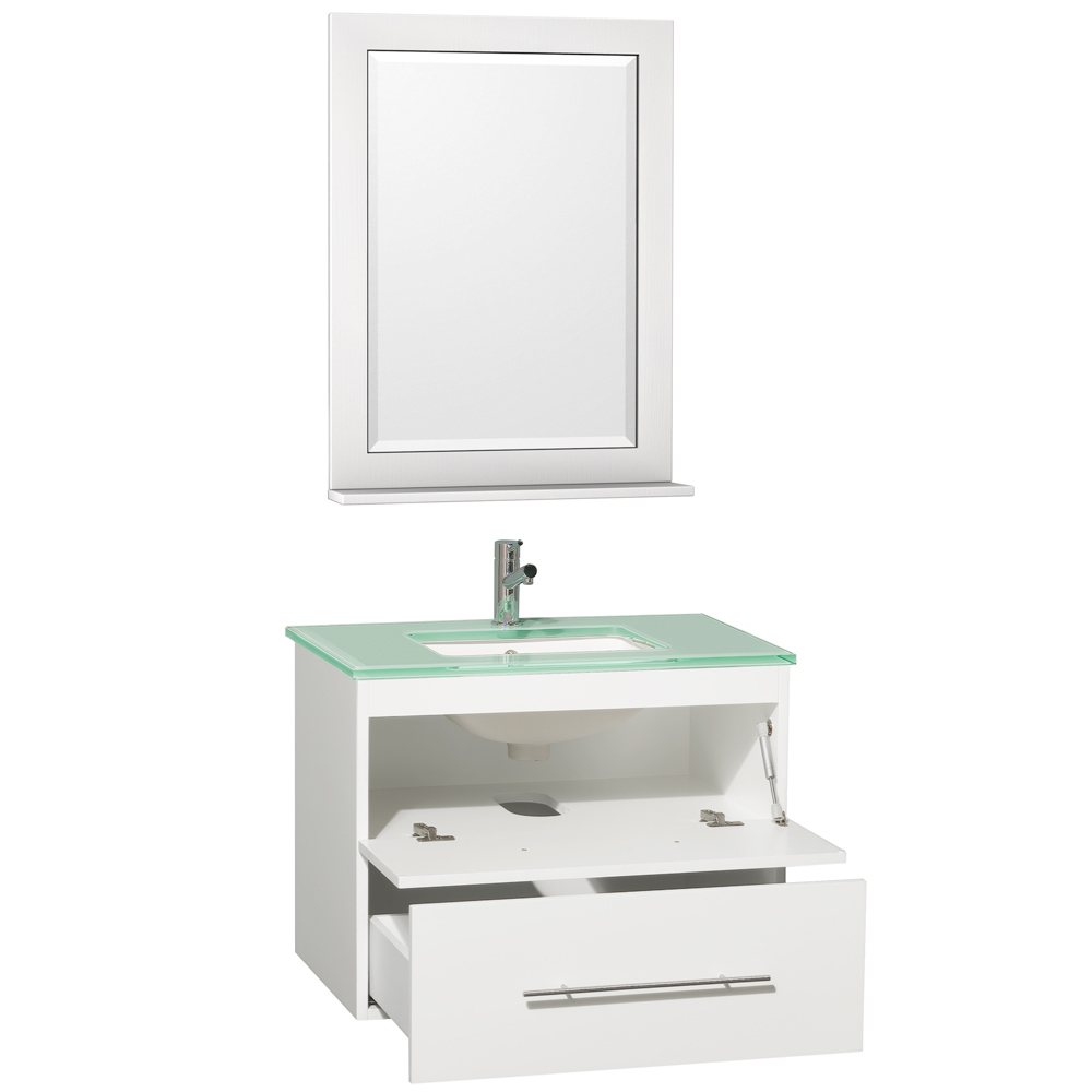 Single Drawer and Single Drop-Down Cabinet
