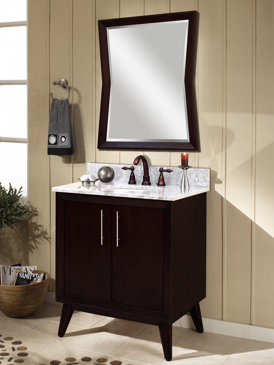 "30"" Eaton Single Vanity - with optional mirror"