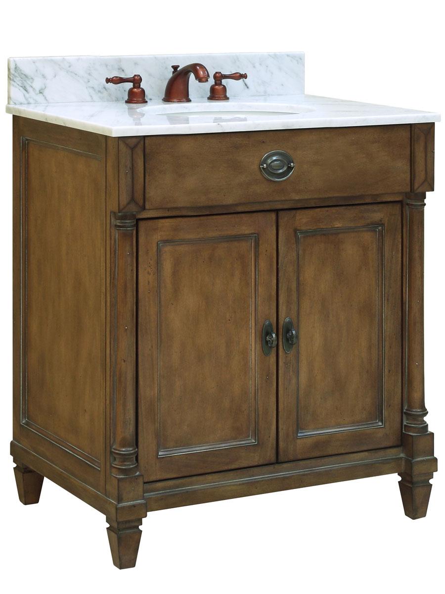 """30 Bathroom Vanity With Top: 30"""" Regency Place Single Bath Vanity"""