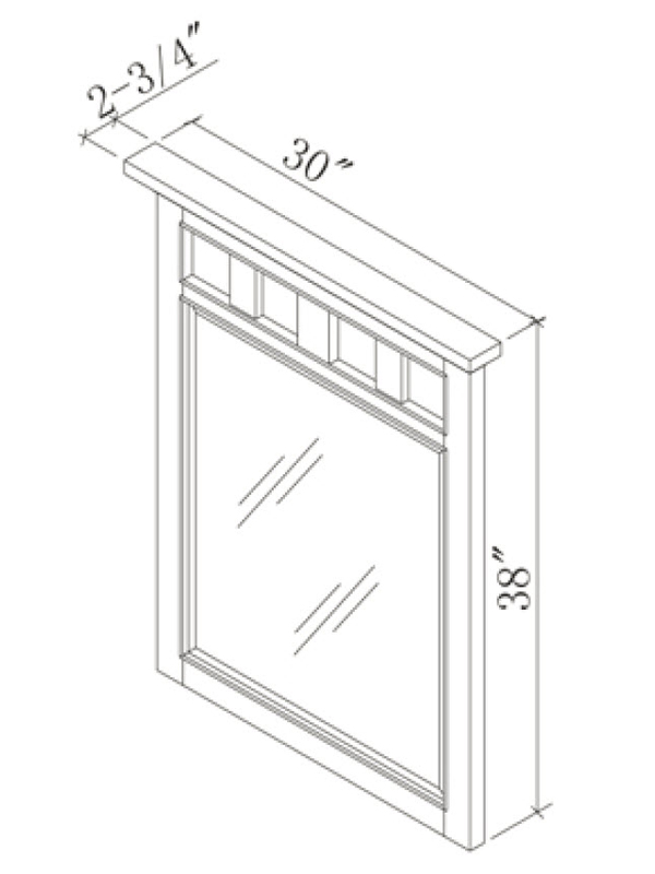 Optional Linen Cabinet (Hutch)