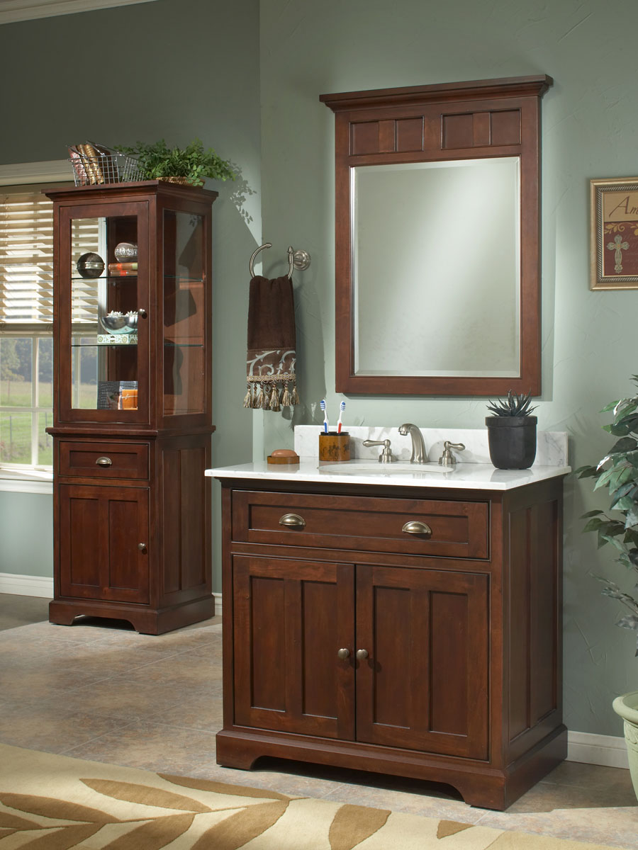 "30"" Somerset Single Vanity - shown with optional top"