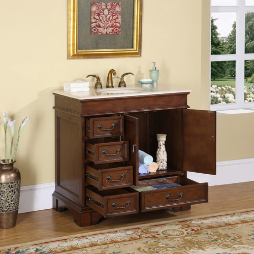 "36"" Hermoso Bathroom Vanity"