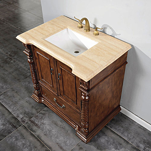 "36"" to 57"" Sidonius Single Bath Vanity"