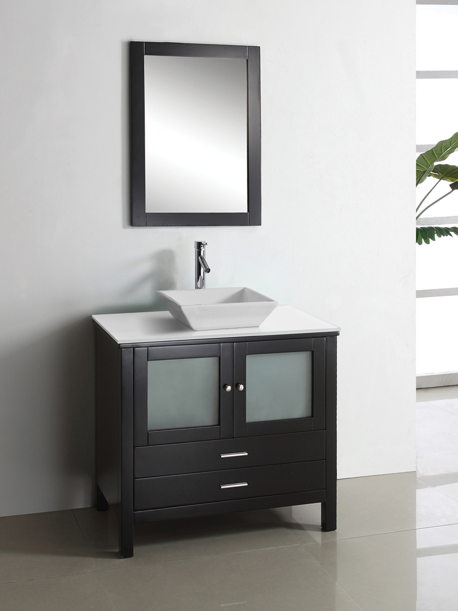 Brentford Single Vanity - with Artificial Stone Top