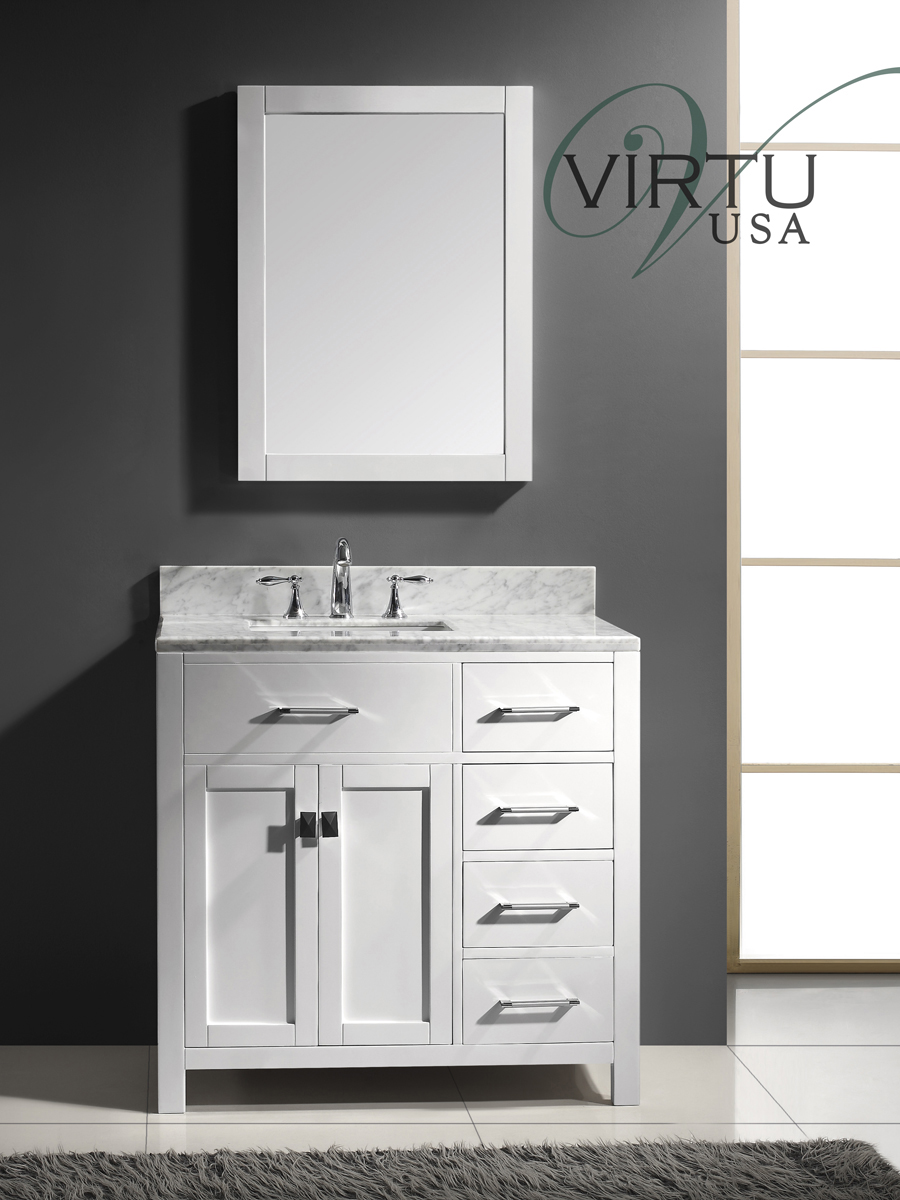 "36"" Caroline Parkway Single Bath Vanity"