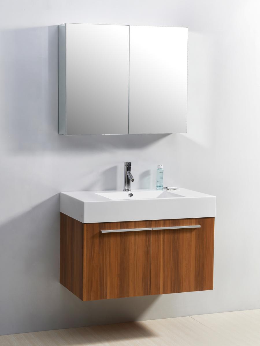 "35.5"" Midori Single Bath Vanity in Plum"