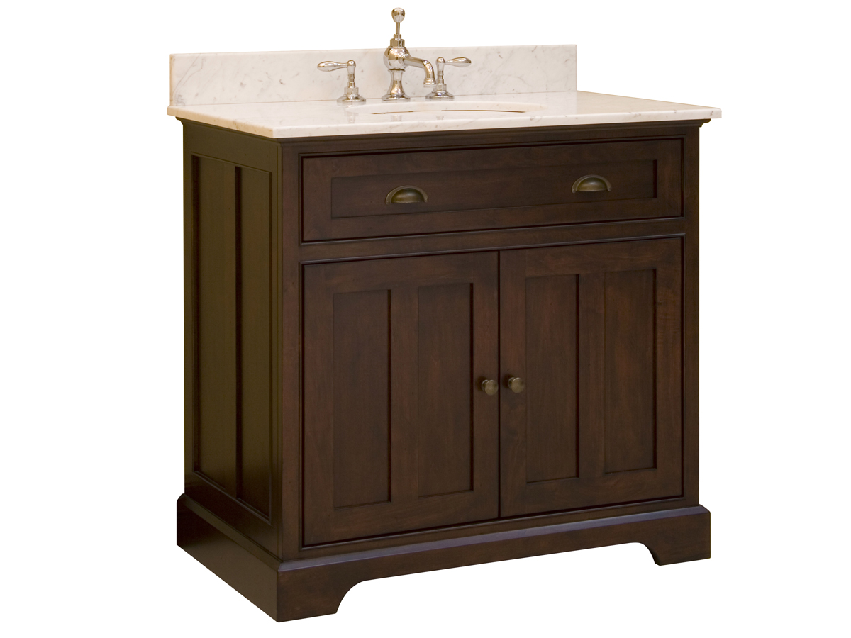 "36"" Somerset Single Vanity - With optional Carrera White top"