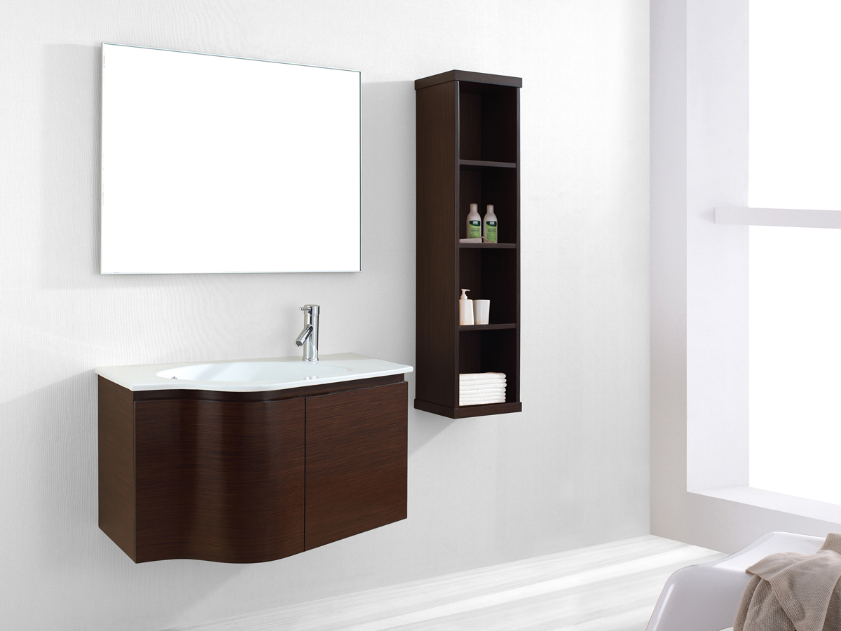 "35.5"" Roselle Single Vanity - Walnut"