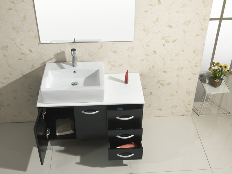 Artificial Stone top and Ceramic sink