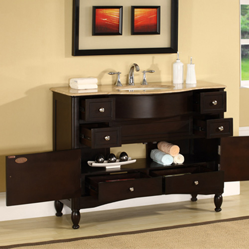 45 antillo single bath vanity. Black Bedroom Furniture Sets. Home Design Ideas